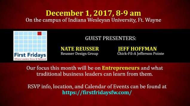 December 2 2017 promo