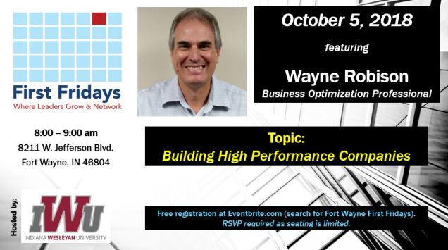 Oct 5 2018 flyer Wayne Robison