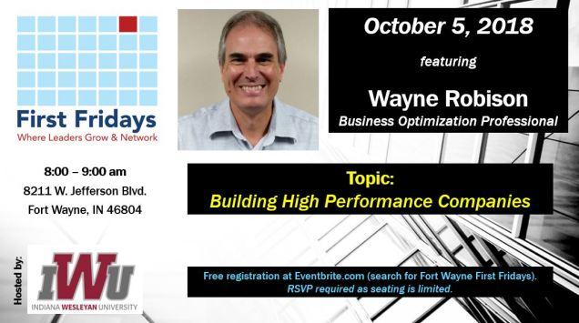 Oct 5 2018 flyer Wayne Robison
