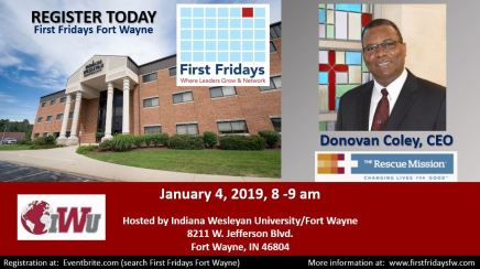 January 4 2019 Donovan Coley flyer