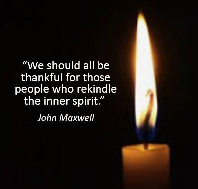 rekindle the inner spirit