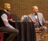 Dr. Michael Moffit with Ernie Johnson Jr