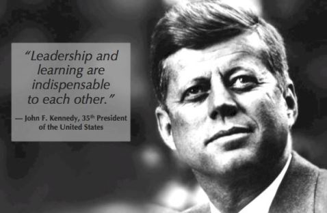 Kennedy on leadership and learning