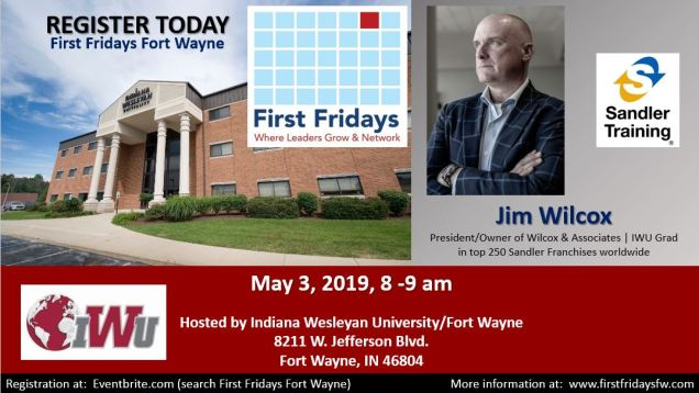 May 3 2019 Jim Wilcox promo flyer